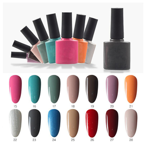 140 colors free sample uv led shiny nail designs wholesale 15ml gel nail polish