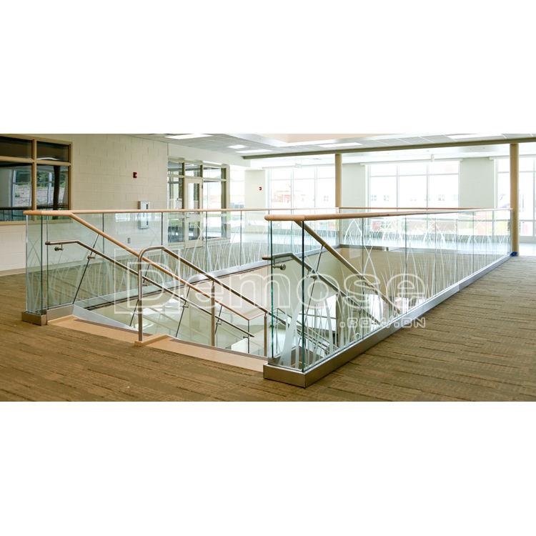 Aluminium Profile For Glass Railing Mild Steel Railing For