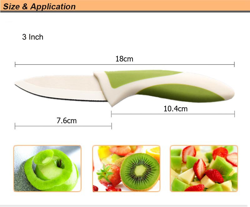 Ceramic Knife Set And Accessories Paring Fruit Utility