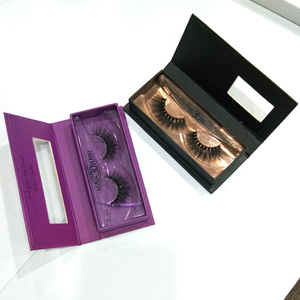 charming 3D mink eyelashes Direct sales private label mink eyelashes false eye lashes with custom eyelash packaging