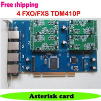 Digium TDM410P TDM410 Trixbox card Asterisk card with 4 FXO/FXS port