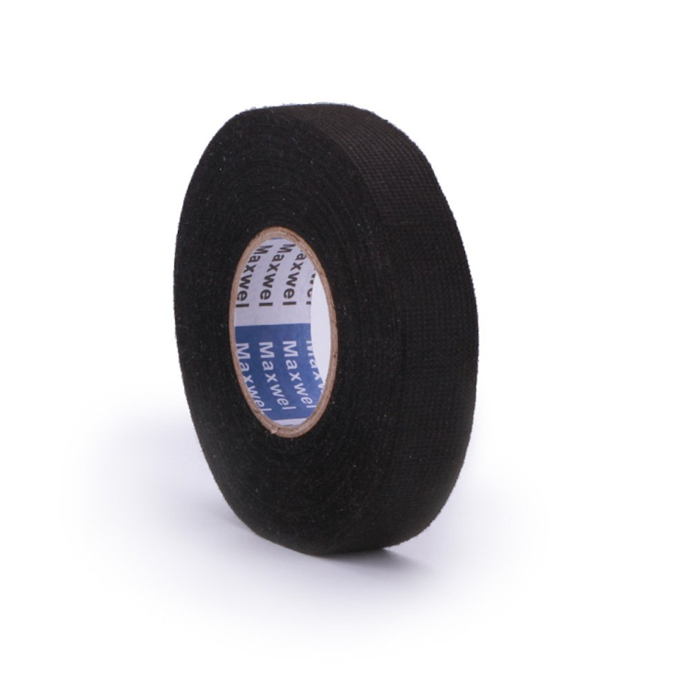 Cheap Electrical Wire Loom Find Deals On Line Auto Wiring Harness Cloth Tape Get Quotations Adhesive Fabric For Automotive Harnessing Noise Damping Heat Proof