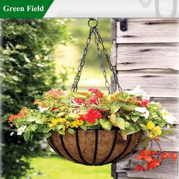 Green field garden hanging basketflower hanging basket buy garden green field garden hanging basket flower hanging basket workwithnaturefo