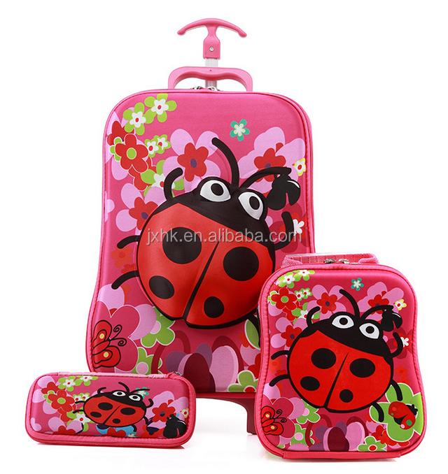 b236c67f57ccd الأطفال المتداول حقيبة سفر عربة المدرسة حقيبة مجموعة-حقائب الظهر ...