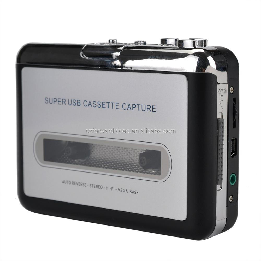 USB Cassette tape cassette to mp3 Audacity ezcap218