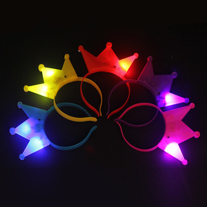 Party decoration changing color led party light ox horn