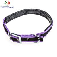 New pet products 2018 China supplier custom logo dog collar