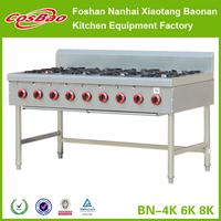 Low MOQ welcome industrial gas burner, gas cooker, gas stove