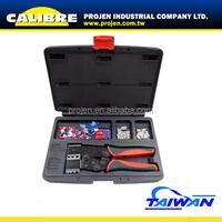CALIBRE 105PC Twin Quick Change ratchet Crimper Tool Set ratchet crimping tool