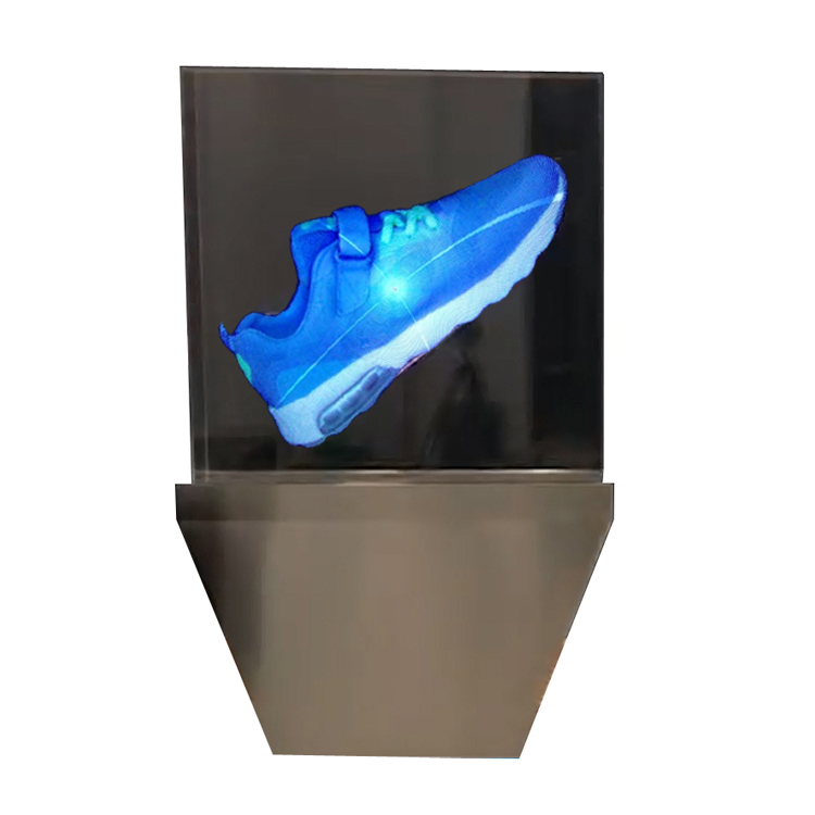 e1e763f03ab8c8 3d holographic projection projector vans shoes Advertising fan hologram  projector