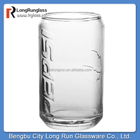 LongRun brand new design Pepsi glass cup round bottom glassware with high quality