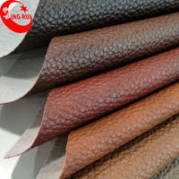 Knitted Backing Technics and Home Textile,Bag,Sofa,Furniture Use PVC artificial leather