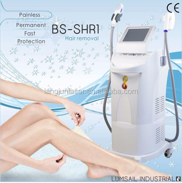 Shr Opt Permanent Hair Removal Machine Shr Ipl Machine For Legs