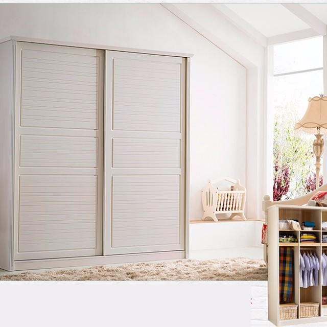 Double Door Bedroom Wall Wardrobe Design / Latest Wardrobe Door Design /  Bedroom Wooden Wardrobe Design