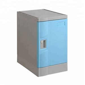 outdoor beach knock down waterproof golf storage abs bag lockers lock cabinets