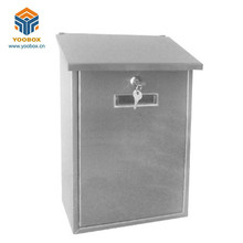 Euro Style Strong Locked Die cast Wall Mounted Postbox