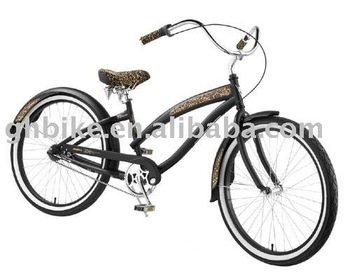 26'' popular style beach cruiser bike passed ce
