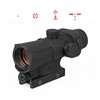 tactical airsoft hunting red dot scope sight red dot reflex dot scope CL2-0107