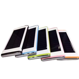 Promotional Activities with New design Triple USB ports for multiple devices Solar power charger 10000mah