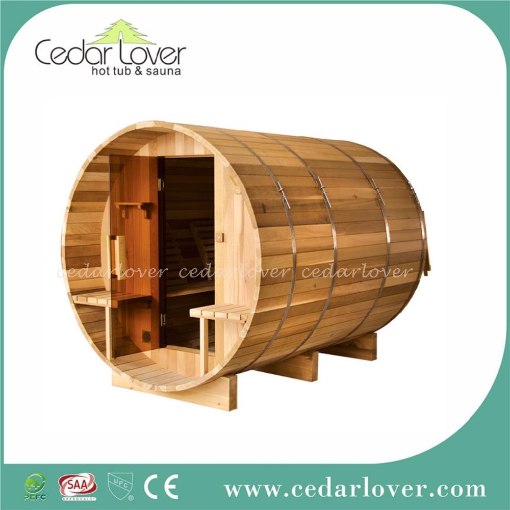 Cedro rosso canadese stanza di legno cabina esterna sauna for Cabine laterali in legno di cedro