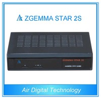 Twin tuner Zgemma-star 2s satellite receiver youtube chinese movie dvb-s2 live streaming tv box