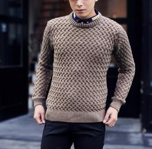 zm52411a korean sweater knitting pattern pullovers men sweater