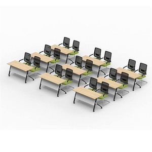 movable conference table u shaped conference room table modern folding conference table study desk