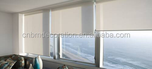 Double layerout roller blind