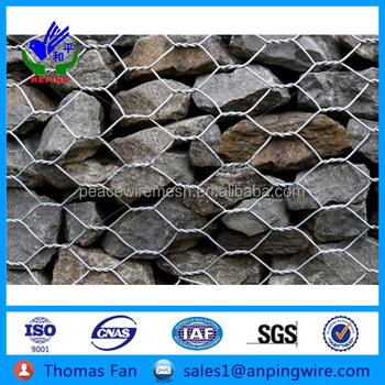 Gravity Retaining Wall Gabion Baskets Reno Mattress,Hexagonal Wire ...