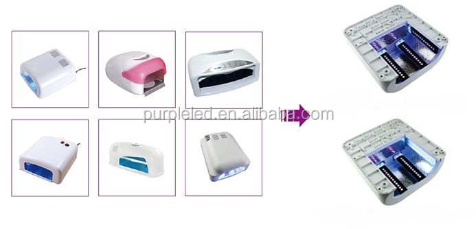 Factory Wholesale 48w Electric Gel Polish Dryer Uv Led Nail Dryer Lamp