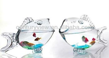Showpiece For Home Decoration Glass Fish Bowl Wholesale - Buy ...
