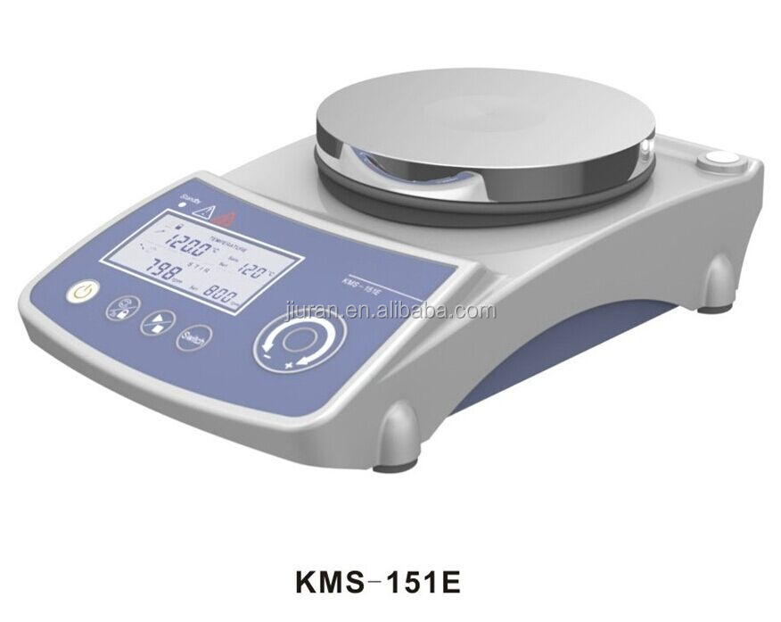 20L 100-1800rpm 340C laboratory LCD Display Heating Magnetic Stirrer with hot plate