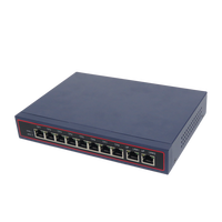 8-port gigabit Unmanaged PoE switch for IP camera with 8 gigabit RJ45 120w