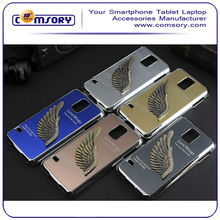Shining Love Wings Bling Hard Back Cover Case for Samsung Galaxy S5 i9600