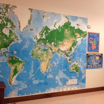 Custom Printed Wall Murals Personalized Map Photo Wallpaper Custom
