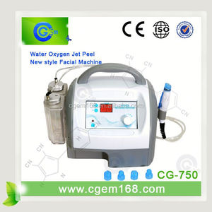 CG-750 Welcome Sole Agent hydro dermabrasion for salon use