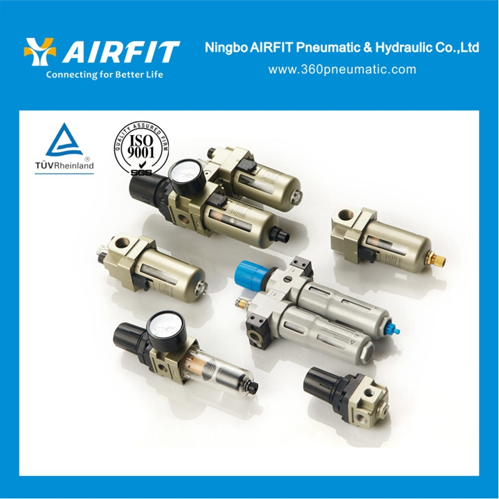 Air Source Treatment Unit /Air Filter Combination / Pneumatic FRL