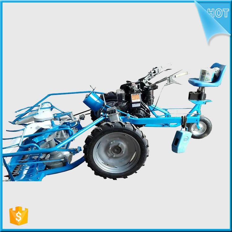 Diesel 4 Wheels Self Propelled Rice Reaper Binder