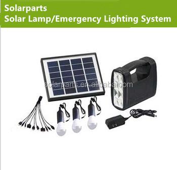 Emergency Solar LED Home Lighting System Solar Zoom Camping Lamp Solar  Powered Heat Lamp Solar Power