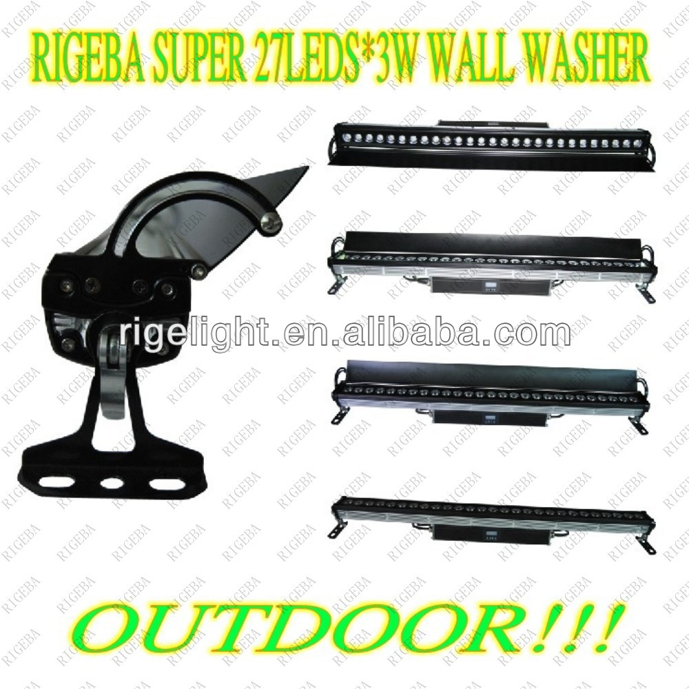 27leds 3w Rgb Outdoor Wall Wash Light,Led Outdoor Wall Light,Led ...