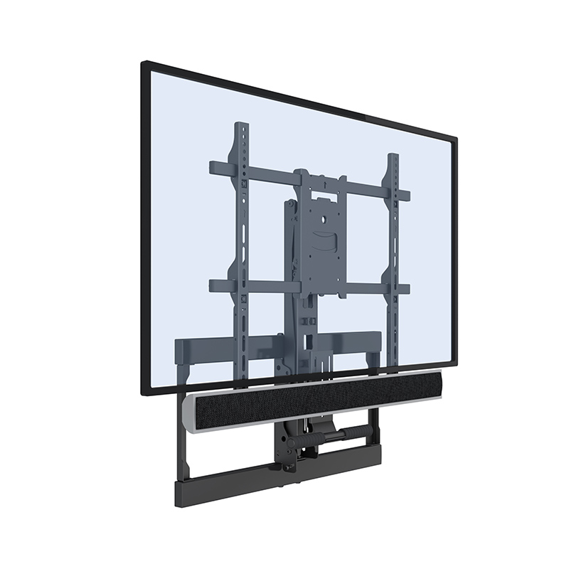 50 inch Flat Screen Wall Mount Schoorsteenmantel TV Beugel Up En Down TV Mount Voor Thuis