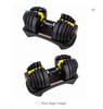 China Supplier high quality automatically adjustable dumbbell set