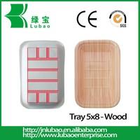 wooden printing mircowavable paper food plate