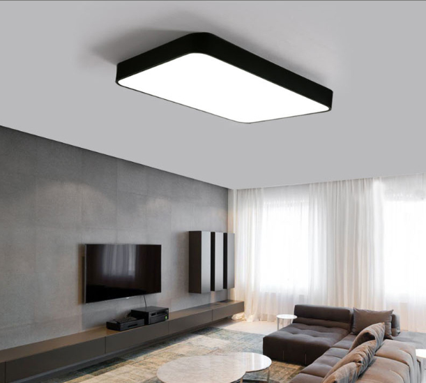 Modern New Design High Quality Led Residential Square Ceiling Lamp