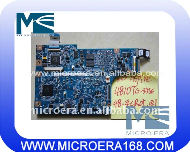 laptop motherboard for acer apire 4810T integrated
