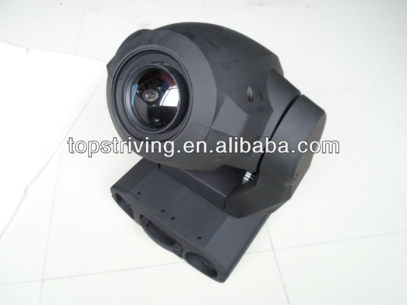 High luminous-efficiency parabolic mirror CMY color mixing moving head 575
