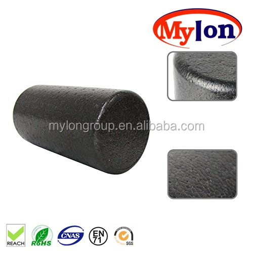 Wholesale Eco-friendly Black High Density EPP Foam Roller Good for Core Strength Training and Pain Relief