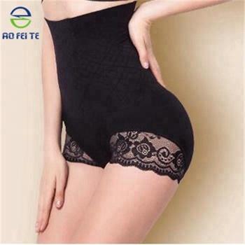 7150aa0544f Women High Waist Slimming Tummy Control Panties Seamless Briefs Shapewear  Magic Body Shaper