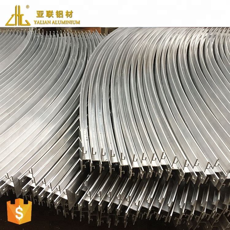Hot! aluminum bending making extrusion for cnc router profile