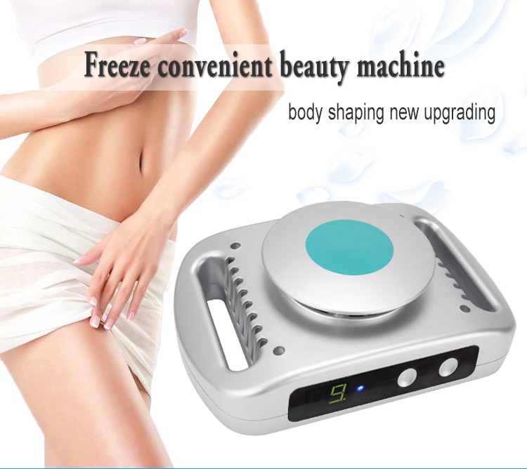 2018 new arrivals body slimming machine portable cool tech fat freezing machine for home use